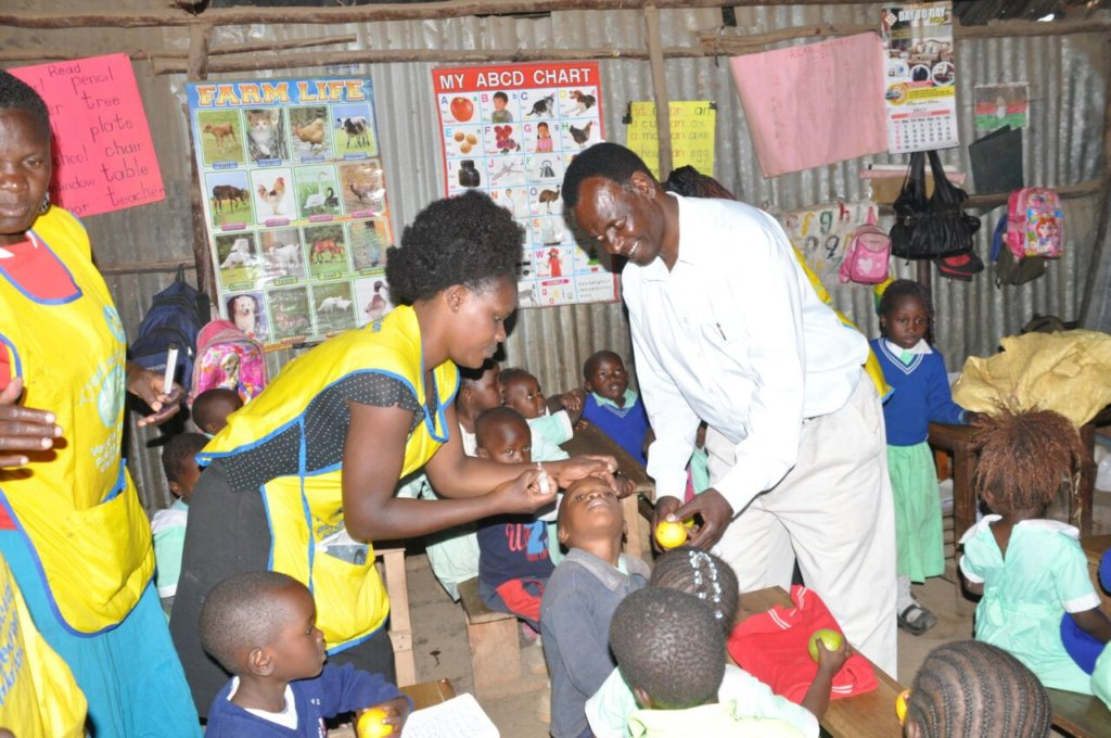Glory Centre School Children Vaccination program
