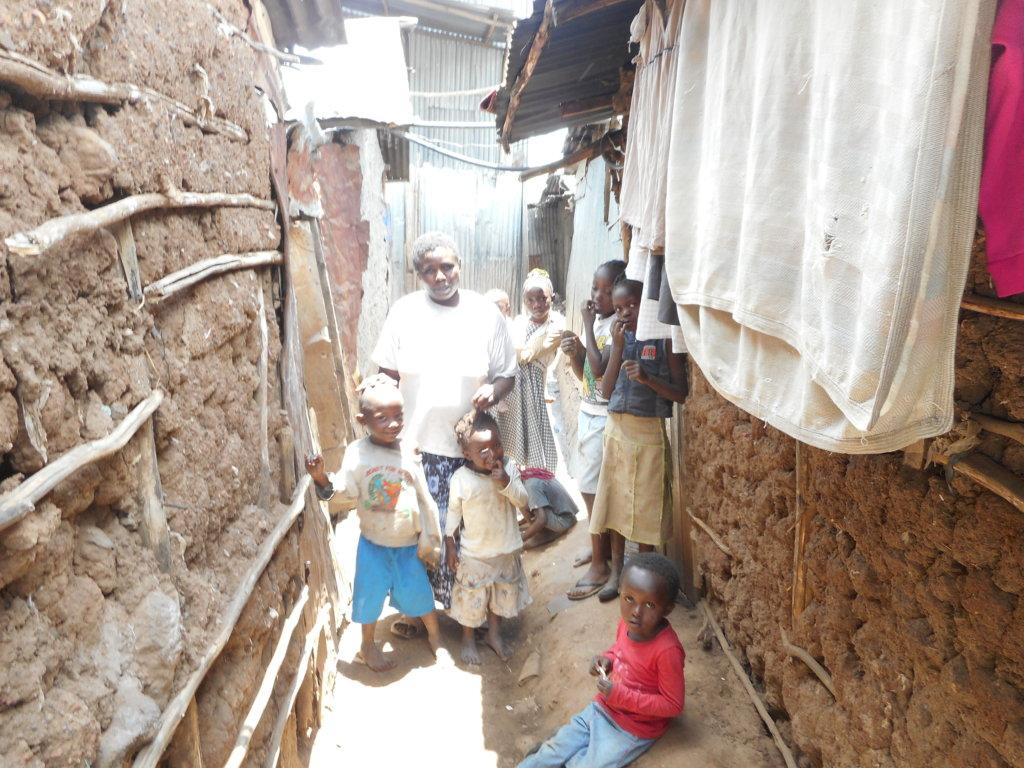Kiambiu slums