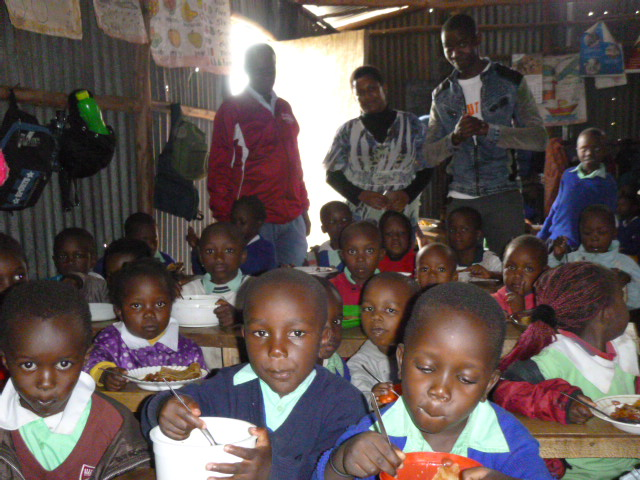 Glory Centre School feeding program